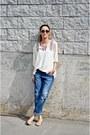 Ivory-ardene-blouse