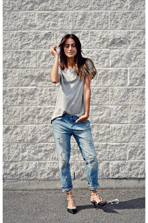 light blue Ardene jeans