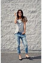 light blue Ardene jeans