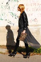 Zara bag - Zara jacket - Zara skirt