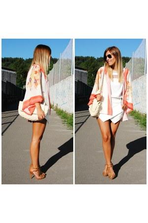 Choies shorts - Choies blouse