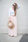 Camel-floppy-hat-american-apparel-hat-white-sheer-h-m-sweater
