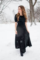black maxi skirt asos skirt - black Club Monaco sweater