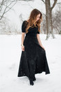 Black-club-monaco-sweater-black-maxi-skirt-asos-skirt