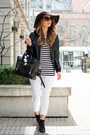 White-white-old-navy-jeans-black-leather-danier-jacket