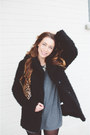Black-target-boots-gray-cotton-topshop-dress-black-faux-fur-topshop-jacket