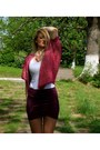 H-m-skirt-bershka-cardigan-bershka-t-shirt-new-yorker-necklace
