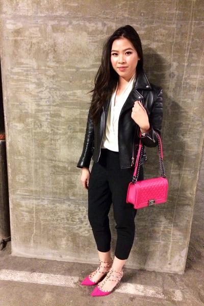 Hot Pink Purse Hot Pink Boy Bag Chanel Purse