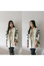 Aritzia-leggings-zara-blouse-sheinside-cardigan-charming-charlie-necklace