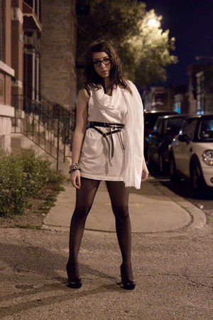 Pleasure Principle dress - Zana Bayne belt - Chanel glasses - Steve Madden shoes
