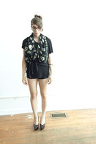 MB999 dress - Zana Bayne belt - American Apparel shorts - Jil Sander shoes - Ale