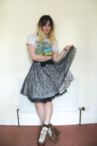 River Island skirt - laughing assassin accessories