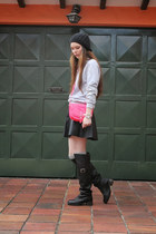Forever 21 skirt - Anne Klein watch