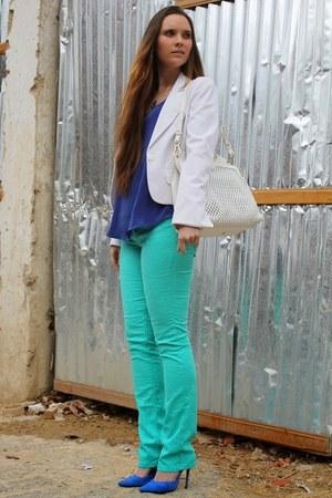 Furla bag - Zara heels - Forever 21 top