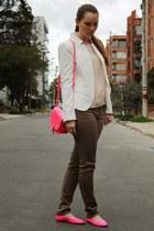 Zara blazer - H&M top