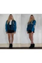 Kurt Geiger boots - Laura Alice Rogan jacket - Missguided t-shirt
