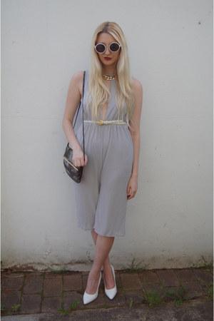 Missguided heels - asos bag - Primark sunglasses - Topshop belt