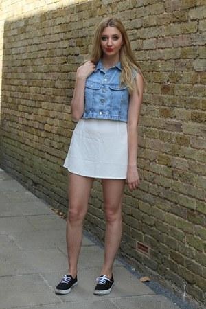 Rokit top - Pretty Little Thing skirt - Primark pumps