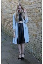 AX Paris jacket - Boohoo top - whistles skirt - Heelberry heels
