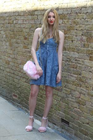 Boohoo dress - Pretty Little Thing bag - Public desire heels