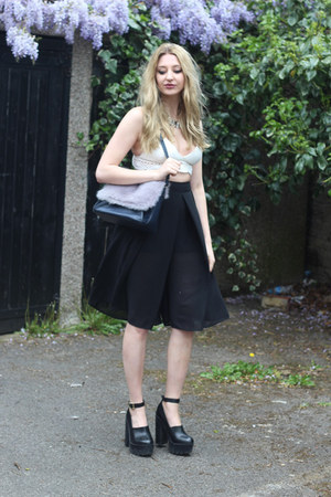 River Island shoes - whistles bag - new look pants - Missguided top