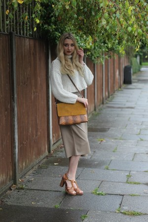 Zara bag - Zara pants - Zara jumper - Moda In Pelle sandals