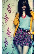 Miss Selfridge belt - Primark necklace - new look top - H&M cardigan - Primark s