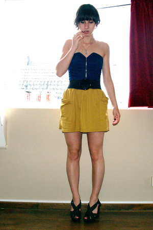 Wini top - American Apparel skirt - acne shoes