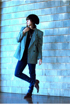Salvation Army blazer - by corpus jeans - Urban Outfitters shoes - Marc Jacobs h
