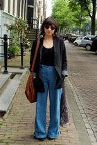 Uniqlo blazer - American Apparel - H&M jeans - Topshop purse