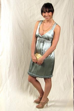 See by Chloe dress - Anne Klein necklace - Zara shoes - Laura Dols purse