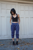 Erin Wasson x RVCA top - Something Else pants - handmade accessories - Givenchy