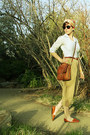 Coach-bag-banana-republic-top-ralph-lauren-pants-unisa-flats