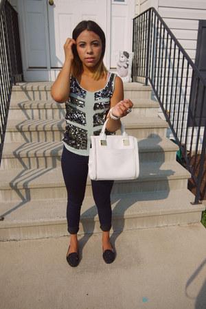 Rock & Republic shirt - ted baker purse