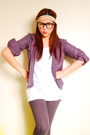 Gray-g2000-cardigan-gray-zara-leggings-white-mix-shirt