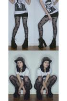 tall boots boots boots - chanel joyrich t-shirt