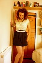 vintage shirt - American Apparel skirt