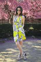 Yoana Baraschi dress - Zara sunglasses - Marc Fisher heels