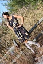Victorias Secret dress - BCBG belt - H&M socks - Prada shoes