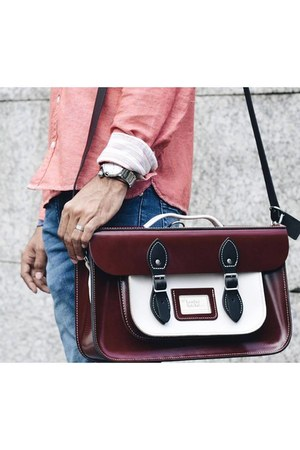 leathersatchel bag