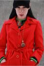 Vintage-boots-vintage-dress-vintage-coat-h-m-tights-necklace