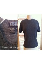 charcoal gray Harolds sweater