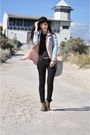 Pink-sportsgirl-shirt-black-levis-jeans-black-vintage-top-blue-jayjays-jac