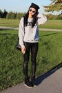 Heather-gray-la-notte-sweater-black-forever-21-leggings-black-zara-bag