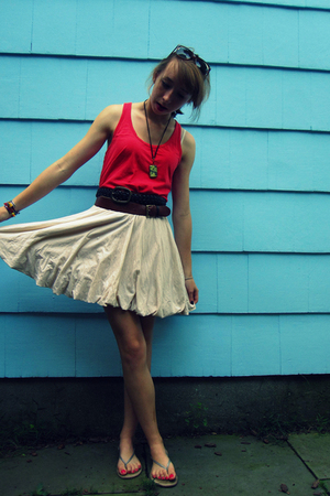 forever 21 dress - skirt - Urban Outfitters sunglasses - Gap shoes