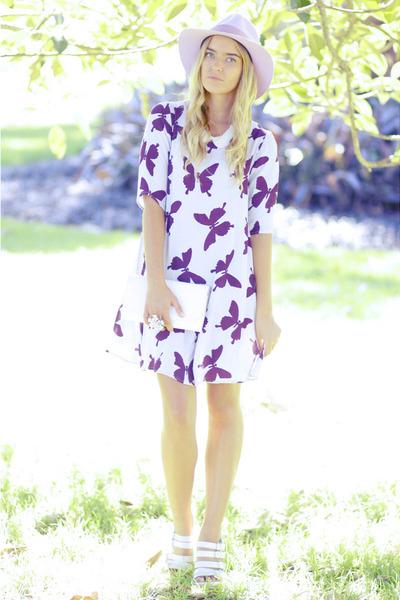 white ann demeulemeester heels - light purple mister zimi dress