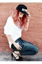 civil clothing hat - sophiscat pants - She Inside t-shirt