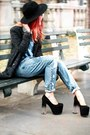 Black-unif-shoes-gray-she-inside-coat-sky-blue-jeans-jeans-black-oasap-hat