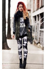 Modekungen-shoes-our-prince-of-peace-leggings-jac-vanek-sweatshirt