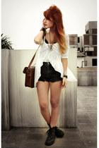 white wwwdagperucom Dag dress - dark brown wwwromwecom romwe bag
